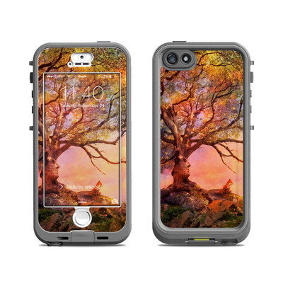 Lifeproof iPhone 5S Nuud Case Skin - Fox Sunset