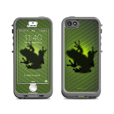 Lifeproof iPhone 5S Nuud Case Skin - Frog