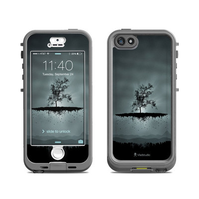 Lifeproof iPhone 5S Nuud Case Skin - Flying Tree Black