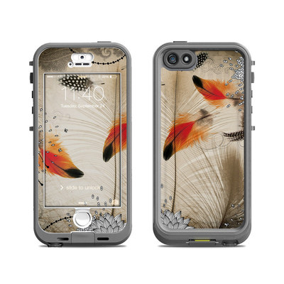 Lifeproof iPhone 5S Nuud Case Skin - Feather Dance