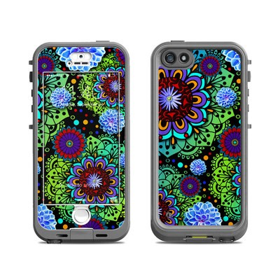 Lifeproof iPhone 5S Nuud Case Skin - Funky Floratopia