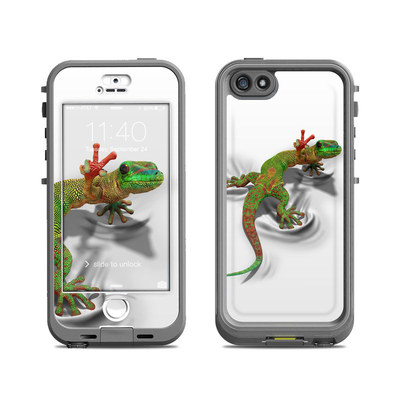 Lifeproof iPhone 5S Nuud Case Skin - Gecko