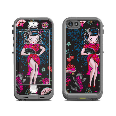 Lifeproof iPhone 5S Nuud Case Skin - Geisha Gal