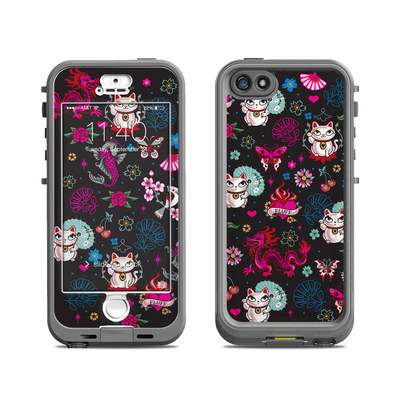 Lifeproof iPhone 5S Nuud Case Skin - Geisha Kitty