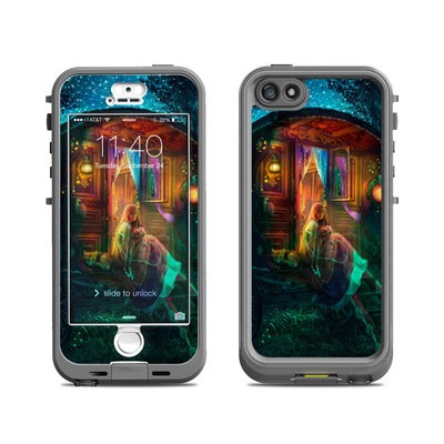Lifeproof iPhone 5S Nuud Case Skin - Gypsy Firefly