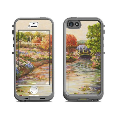 Lifeproof iPhone 5S Nuud Case Skin - Giverny Forever