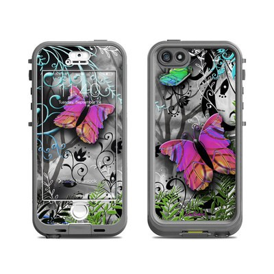 Lifeproof iPhone 5S Nuud Case Skin - Goth Forest