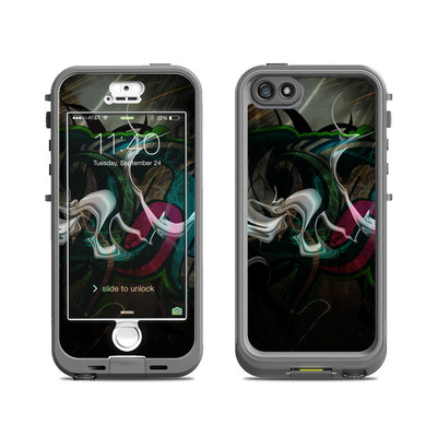 Lifeproof iPhone 5S Nuud Case Skin - Graffstract