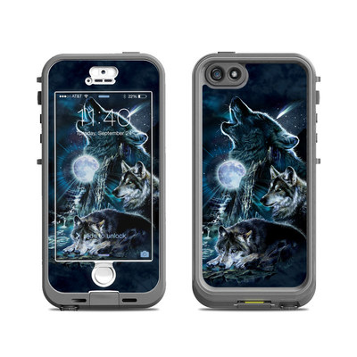 Lifeproof iPhone 5S Nuud Case Skin - Howling