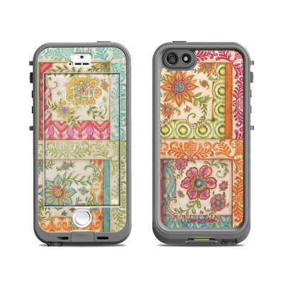 Lifeproof iPhone 5S Nuud Case Skin - Ikat Floral