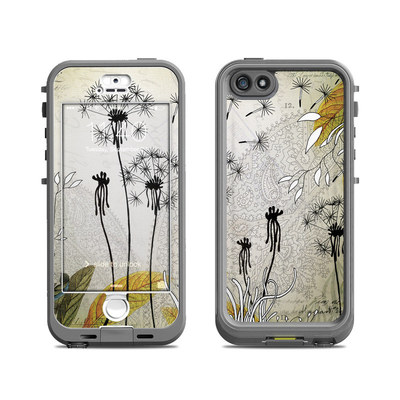 Lifeproof iPhone 5S Nuud Case Skin - Little Dandelion