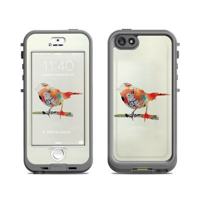 Lifeproof iPhone 5S Nuud Case Skin - Little Bird