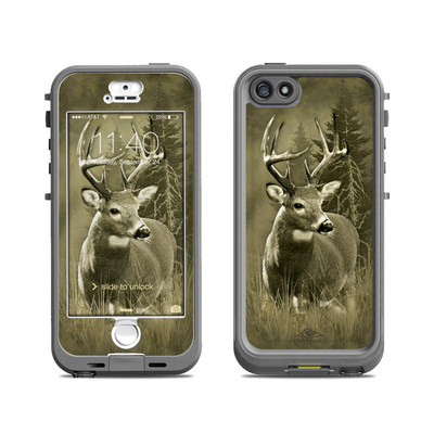 Lifeproof iPhone 5S Nuud Case Skin - Lone Buck