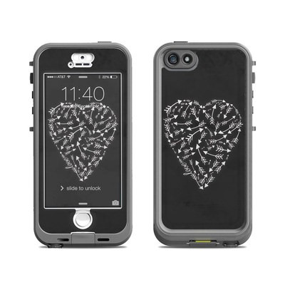 Lifeproof iPhone 5S Nuud Case Skin - Love Me Not
