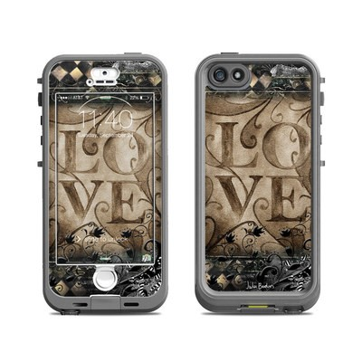 Lifeproof iPhone 5S Nuud Case Skin - Love's Embrace