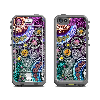 Lifeproof iPhone 5S Nuud Case Skin - Mehndi Garden