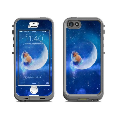 Lifeproof iPhone 5S Nuud Case Skin - Moon Fox