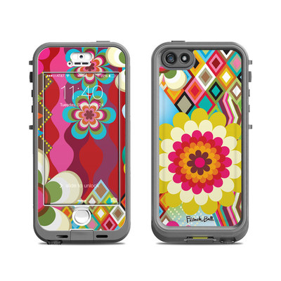 Lifeproof iPhone 5S Nuud Case Skin - Mosaic
