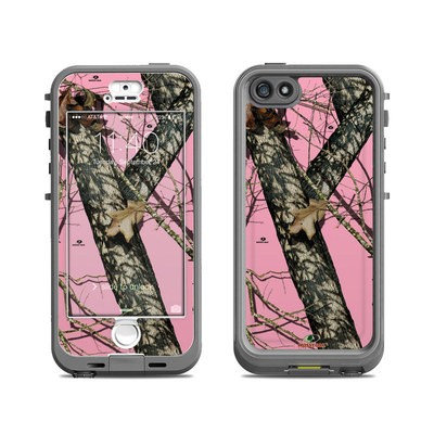 Lifeproof iPhone 5S Nuud Case Skin - Break-Up Pink