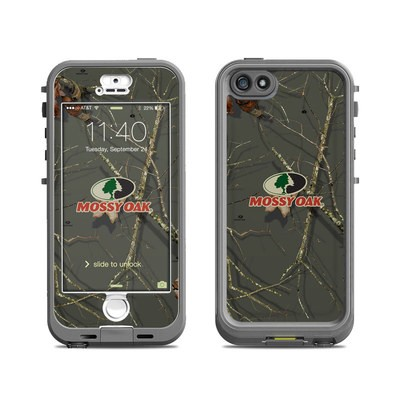 Lifeproof iPhone 5S Nuud Case Skin - Break-Up Lifestyles Evergreen