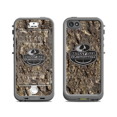 Lifeproof iPhone 5S Nuud Case Skin - Mossy Oak Overwatch