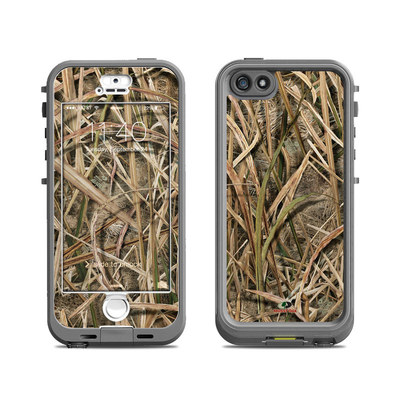 Lifeproof iPhone 5S Nuud Case Skin - Shadow Grass Blades