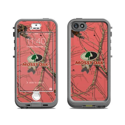 Lifeproof iPhone 5S Nuud Case Skin - Break-Up Lifestyles Salmon