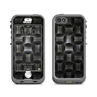 Lifeproof iPhone 5S Nuud Case Skin - Metallic Weave