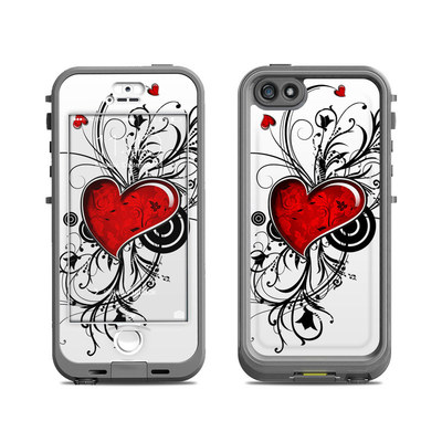 Lifeproof iPhone 5S Nuud Case Skin - My Heart
