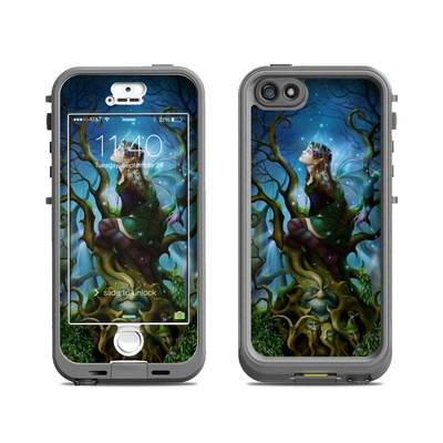 Lifeproof iPhone 5S Nuud Case Skin - Nightshade Fairy