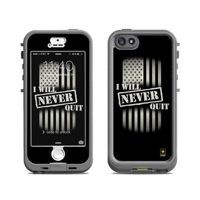 Lifeproof iPhone 5S Nuud Case Skin - Never Quit
