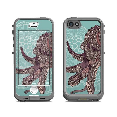 Lifeproof iPhone 5S Nuud Case Skin - Octopus Bloom