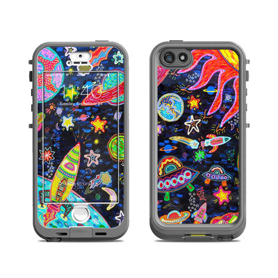 Lifeproof iPhone 5S Nuud Case Skin - Out to Space