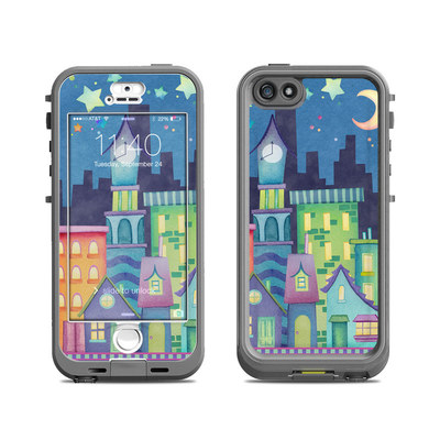 Lifeproof iPhone 5S Nuud Case Skin - Our Town