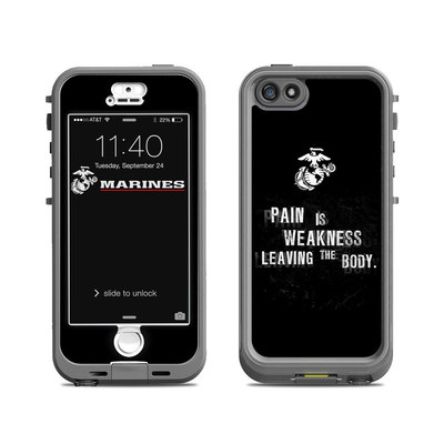 Lifeproof iPhone 5S Nuud Case Skin - Pain