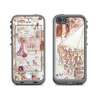 Lifeproof iPhone 5S Nuud Case Skin - Paris Makes Me Happy
