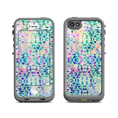 Lifeproof iPhone 5S Nuud Case Skin - Pastel Triangle
