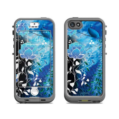 Lifeproof iPhone 5S Nuud Case Skin - Peacock Sky