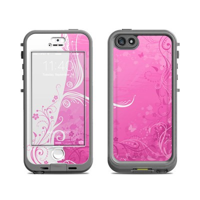 Lifeproof iPhone 5S Nuud Case Skin - Pink Crush