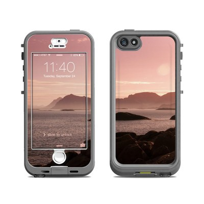 Lifeproof iPhone 5S Nuud Case Skin - Pink Sea