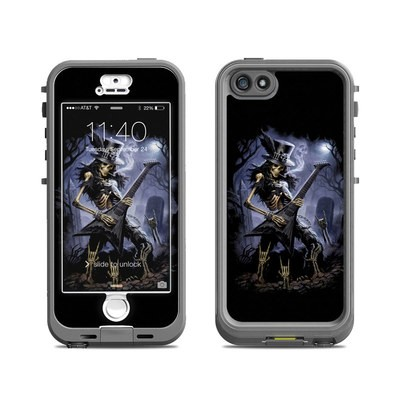 Lifeproof iPhone 5S Nuud Case Skin - Play Dead