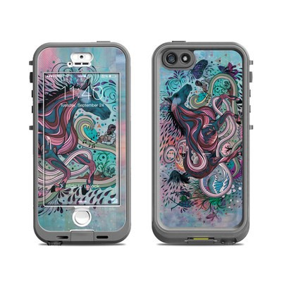 Lifeproof iPhone 5S Nuud Case Skin - Poetry in Motion