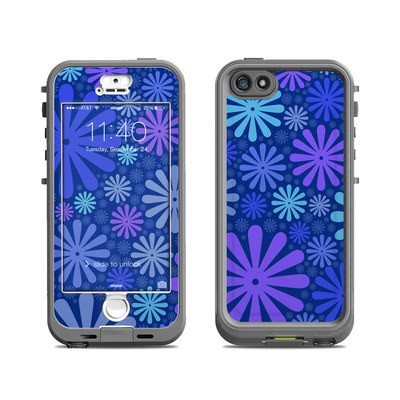 Lifeproof iPhone 5S Nuud Case Skin - Indigo Punch