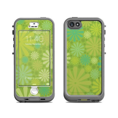 Lifeproof iPhone 5S Nuud Case Skin - Lime Punch