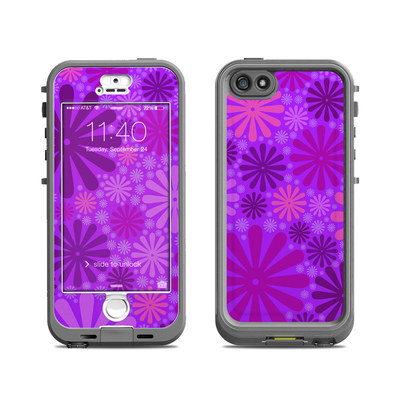 Lifeproof iPhone 5S Nuud Case Skin - Purple Punch