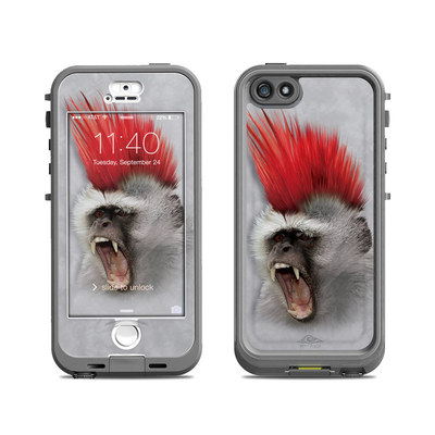 Lifeproof iPhone 5S Nuud Case Skin - Punky