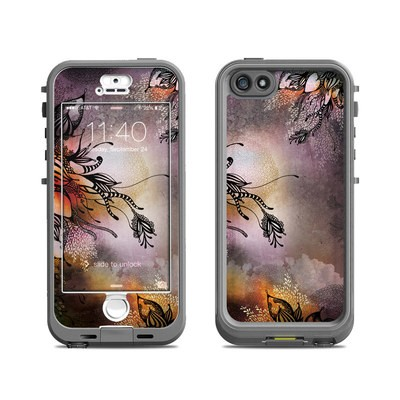 Lifeproof iPhone 5S Nuud Case Skin - Purple Rain