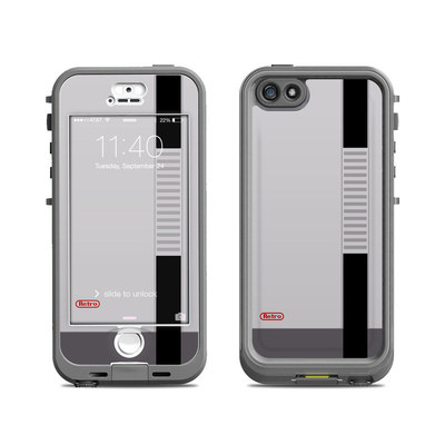Lifeproof iPhone 5S Nuud Case Skin - Retro Horizontal