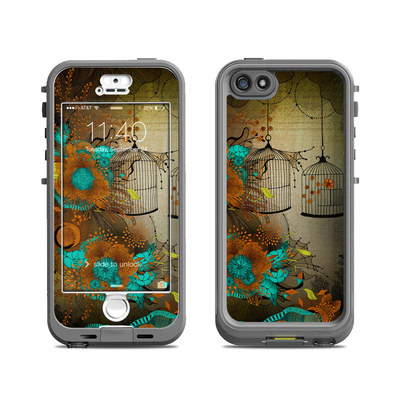 Lifeproof iPhone 5S Nuud Case Skin - Rusty Lace