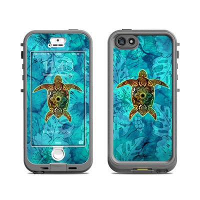 Lifeproof iPhone 5S Nuud Case Skin - Sacred Honu